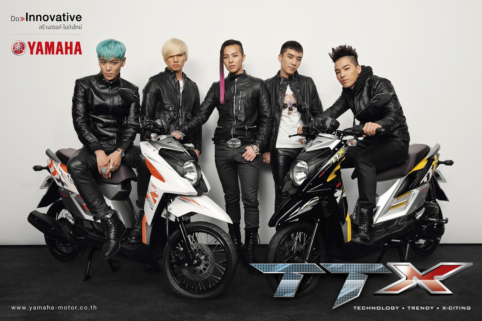 Big Bang S T O P Purchases A 3 Million Usd Villa: Big Bang For Yamaha (HQ)